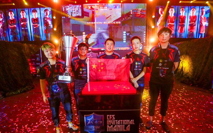 从选手到国家 CF为中国电竞做出榜样