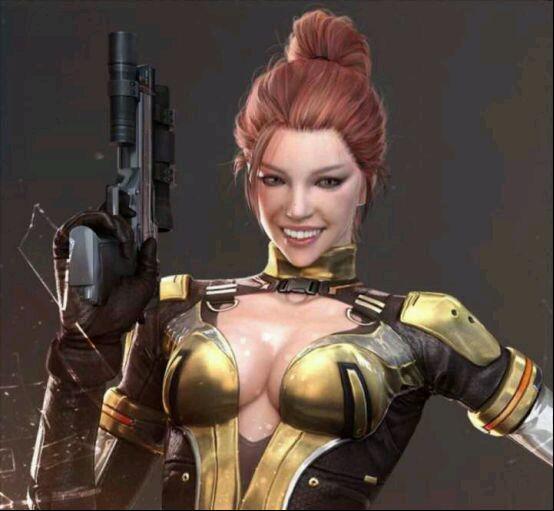 CF资深玩家神P图,当所有的女角色都微笑起来
