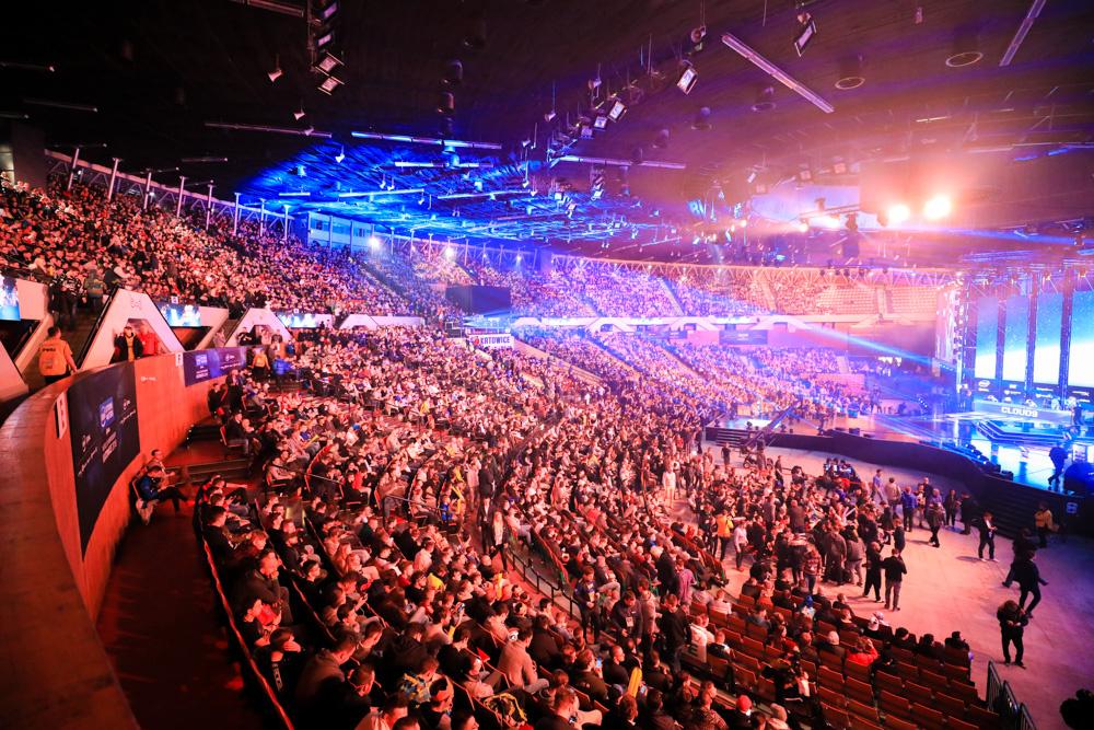 IEM欧洲邀请赛,酷炫的比赛舞台
