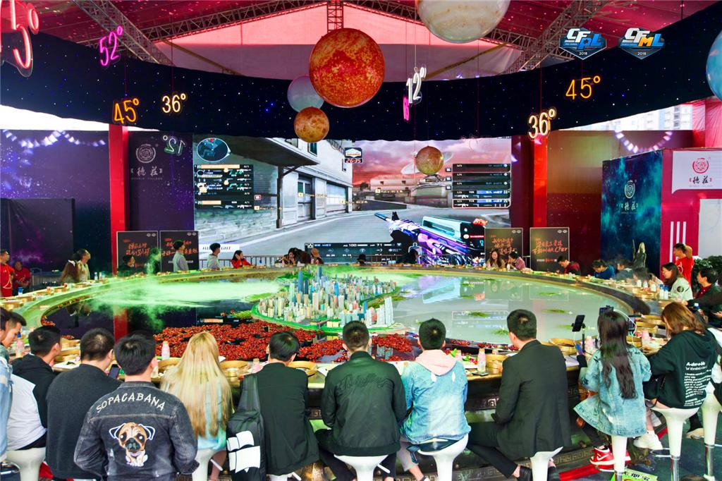 边吃火锅边看比赛,CFPL重庆总决赛,火锅与枪战的艺术结合