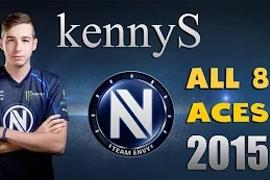 从活在集锦到成为传奇 kennyS全年八次Ace集锦