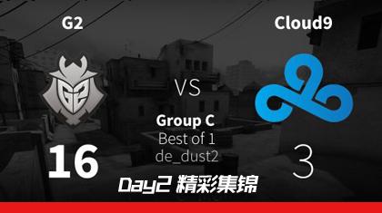MLG哥伦布Day2:G2 vs Cloud9精彩集锦