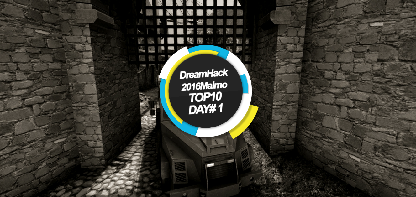 DreamHack马尔默TOP10day#1