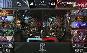 S7小组赛比赛视频Day7 TSM vs MSF