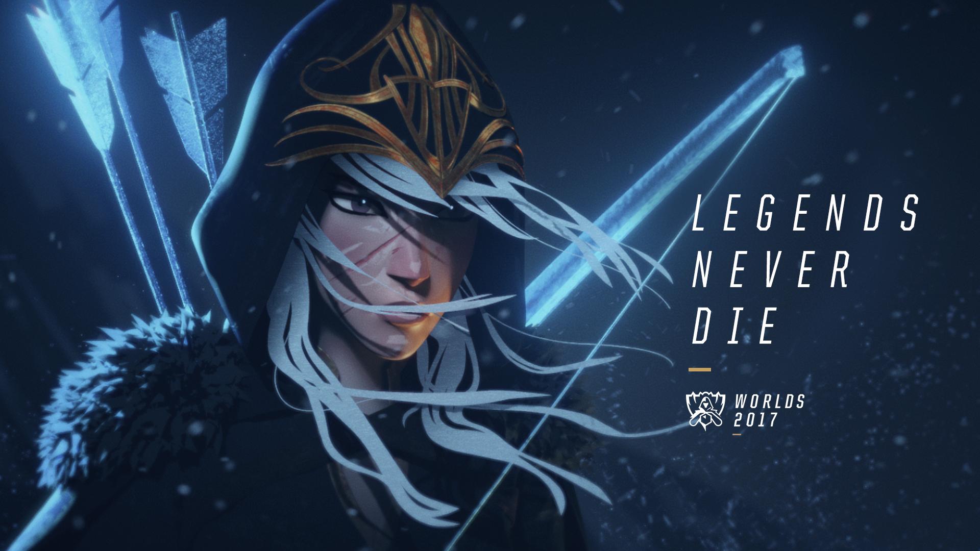 传奇永不熄|Legends Never Die—2017全球总决赛主题曲MV