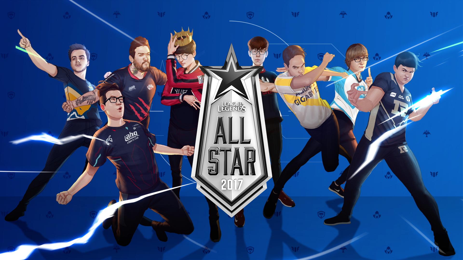 2017Allstar全明星赛