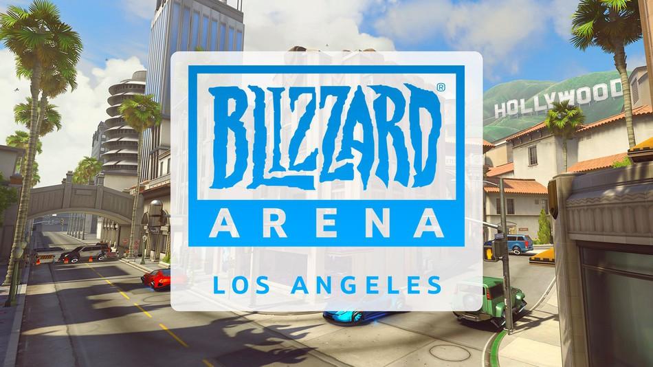 暴雪专属电竞馆落户洛杉矶 10月7日正式开馆