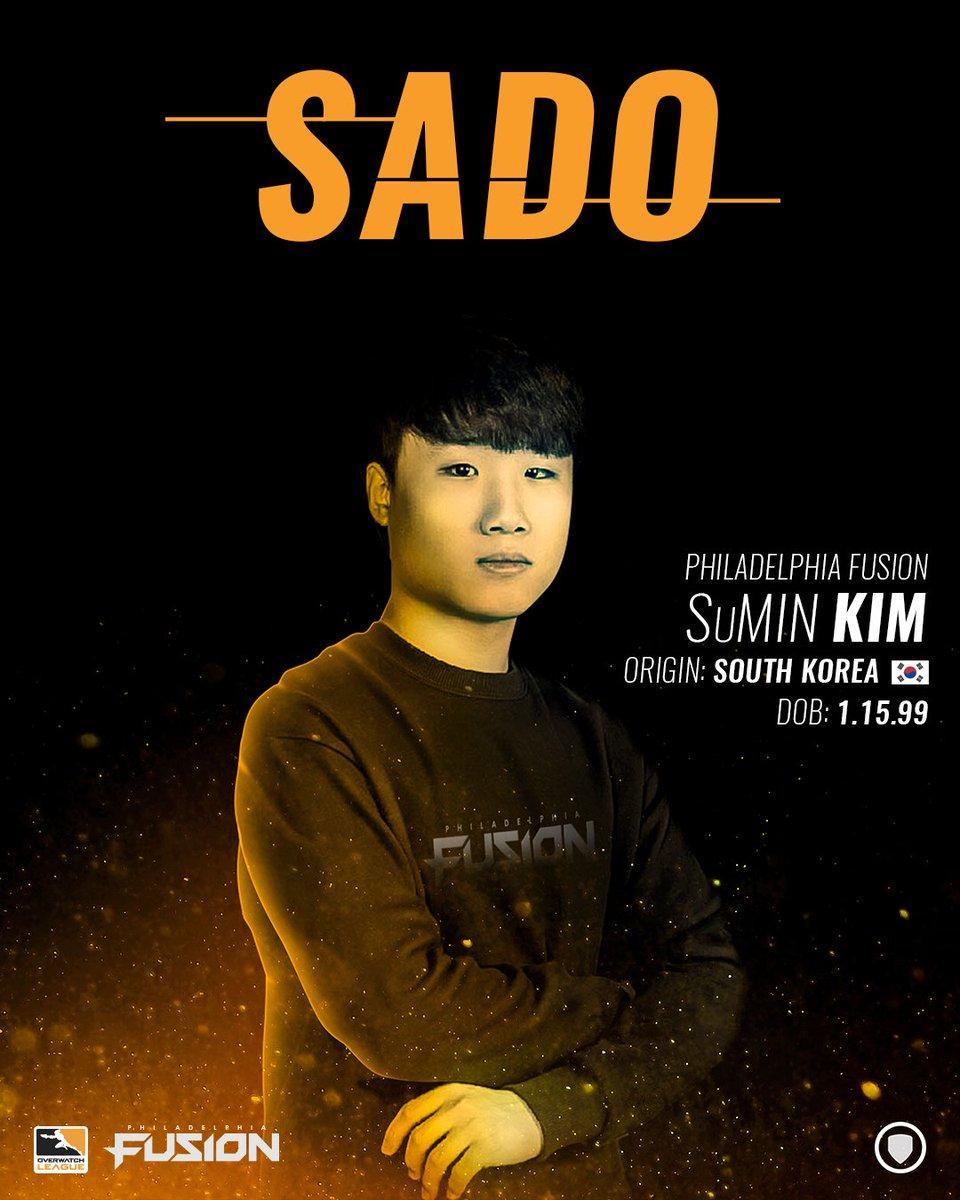 费城融合队坦克选手Sado因代练已被除名