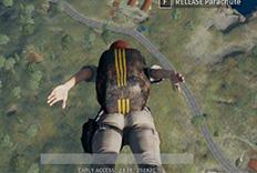 急速跳伞教学:光速落地击落敌人!