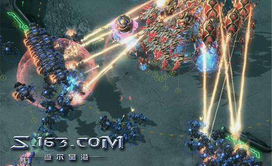 自战解说#6:看XY详解神族新式凤凰巨像战术