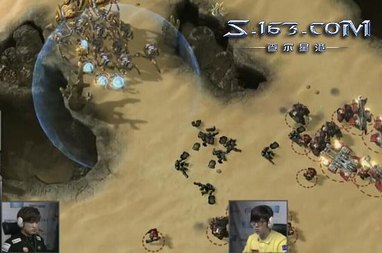 星际2韩服宗师讲解:SPL上Flash为何输给PartinG