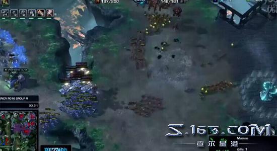 星际2Courage讲解:XiGua为何巨大优势被人族翻盘