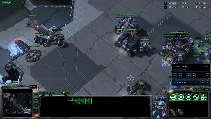 星际TvP战术攻略:光头地雷压制转坦克火车侠