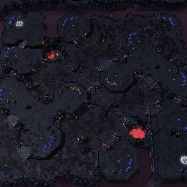GSL2016第一赛季地图库:加入两张战役主题图
