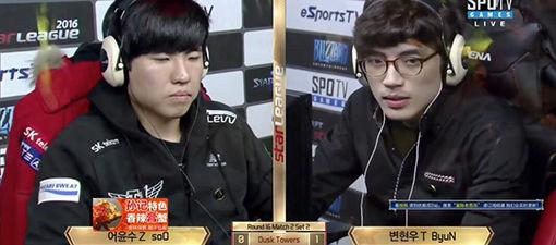 SSL2016第一赛季16强:soO vs ByuN