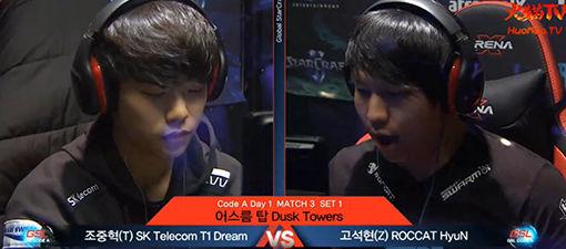 GSL2016第一赛季A级:Dream vs HyuN