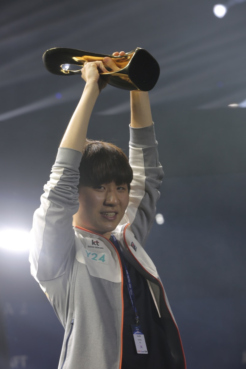 WESG亚太区总决赛DAY3:TY零封Maru夺得生涯首冠