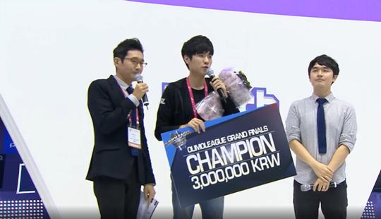 Olimo2016年终总决赛落幕 soO击败ByuN荣获冠军