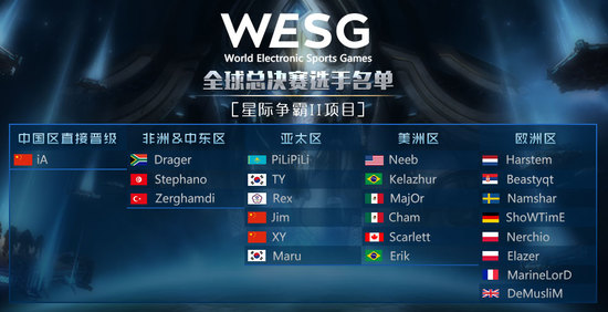 WESG全球总决赛选手巡礼:虫王Stephano再续传奇