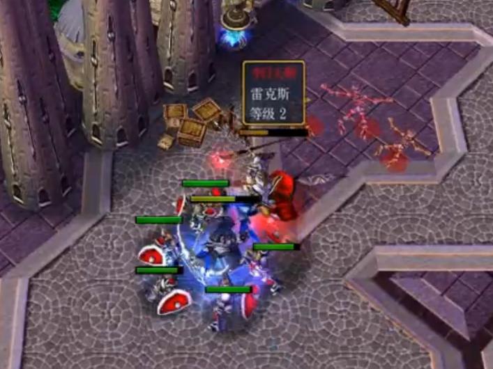 [视频] 魔兽围杀: sky大法师血肉之躯勾引DH