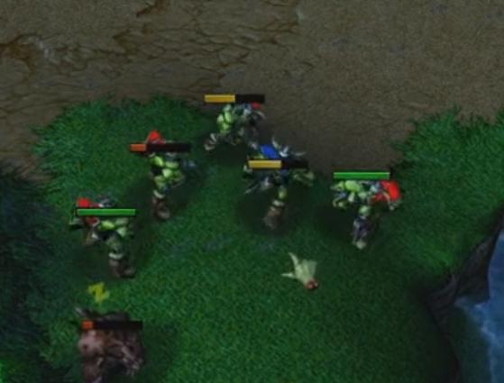 [视频] xiaoy解说:兽王fly步兵人墙式精妙围杀