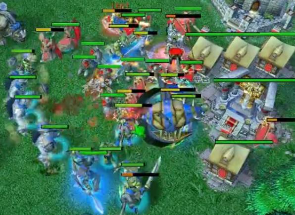 [视频] 大帝解说: 天梯Lyn vs Yumiko,烦人飞艇