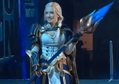 [视频] BlizzCon2018 cos大赛,这个吉安娜真好看
