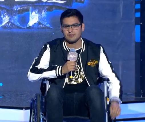 [视频] 被打劫+坐轮椅参赛,Hunter的坚持让人泪目