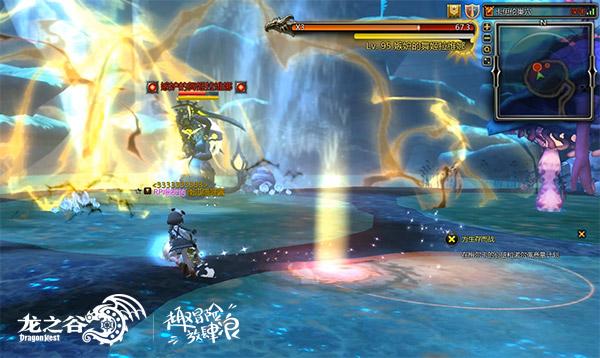 《龙之谷》首个海洋风巢穴!卡伊伦巢穴3.22更新
