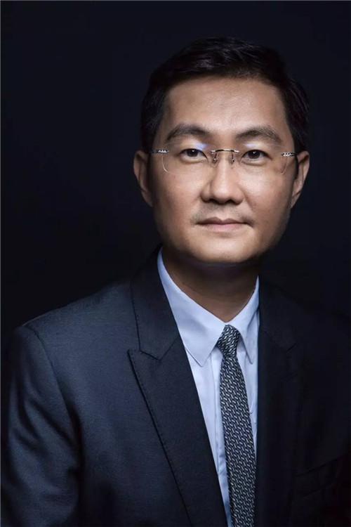 首席执行官_马化腾及腾讯公司副总裁,腾讯影业首席执行官程武祝贺