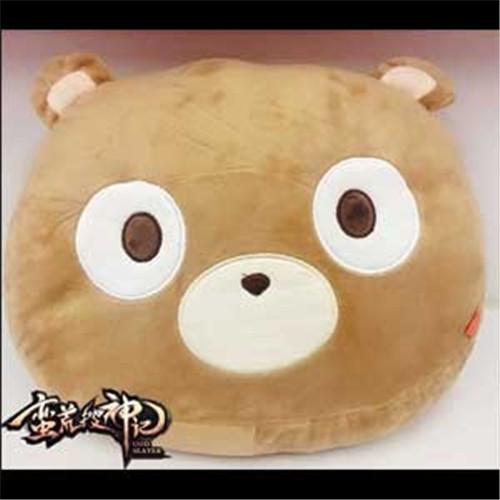 就能轻轻松松把可爱的熊头抱枕带回家喽.