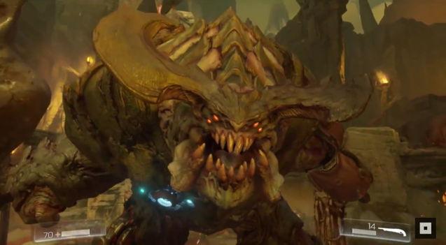 《毁灭战士4》2016年发售 游戏实机视频