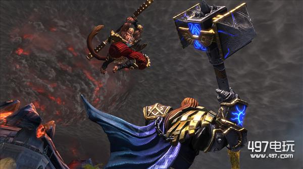 《神之浩劫》登陆PS4 捆绑PC帐号可获取皮肤