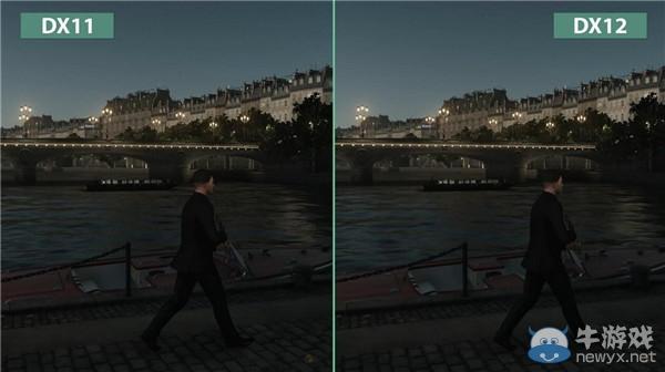 《杀手6》dx11与dx12画面对比 无差距!图片