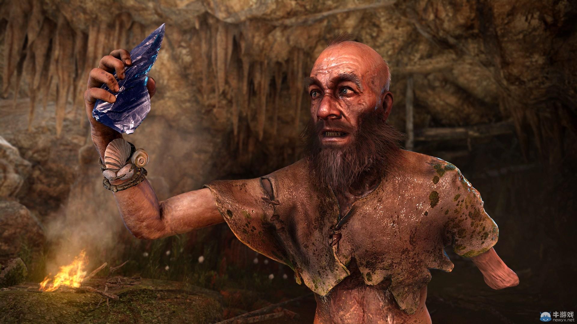 《孤岛惊魂:原始杀戮》发布全新艺术图 人兽同仇敌忾