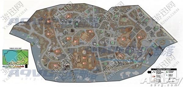 《辐射4》世界地图全18个区域位置分享