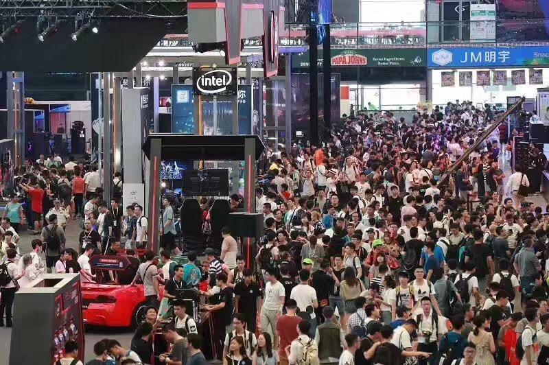 2017CJ Intel 展位现场直击