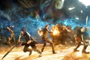 最终幻想15全新演示高级魔法和战斗技巧炫酷亮相