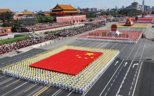 西楚霸王国庆活动规模逆天六国阅兵声势空前