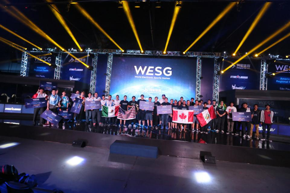 2016WESG美洲区总决赛颁奖典礼