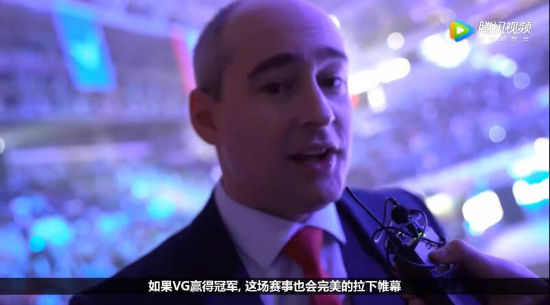 CFS世界赛主持人Matt开始我相信决赛是AV大战