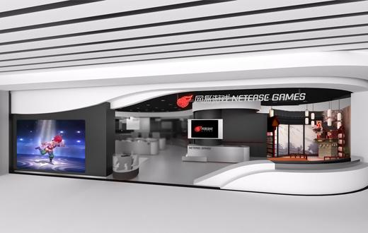 登机前玩AR游戏是什么体验?网易游戏在广州机场开了个店