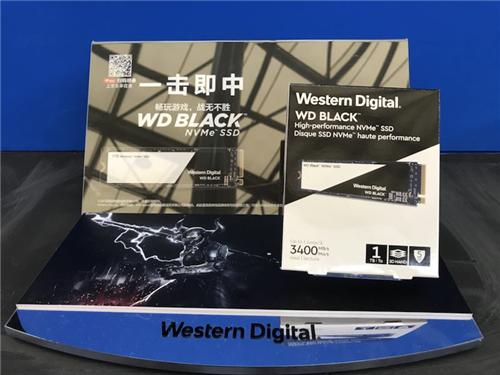 布局端游与移动市场 西部数据携新产品亮相ChinaJoy
