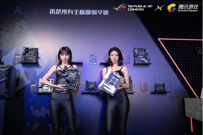 华硕X570主板领衔ROG新品发布会竞力狂飙