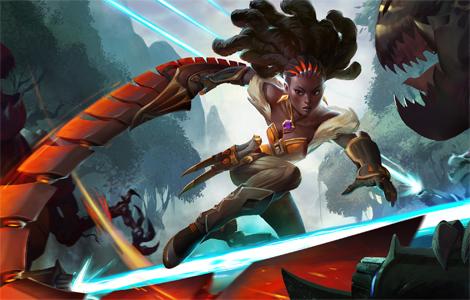 最酷最秀的赏金猎人风暴英雄新英雄琪拉现已上线
