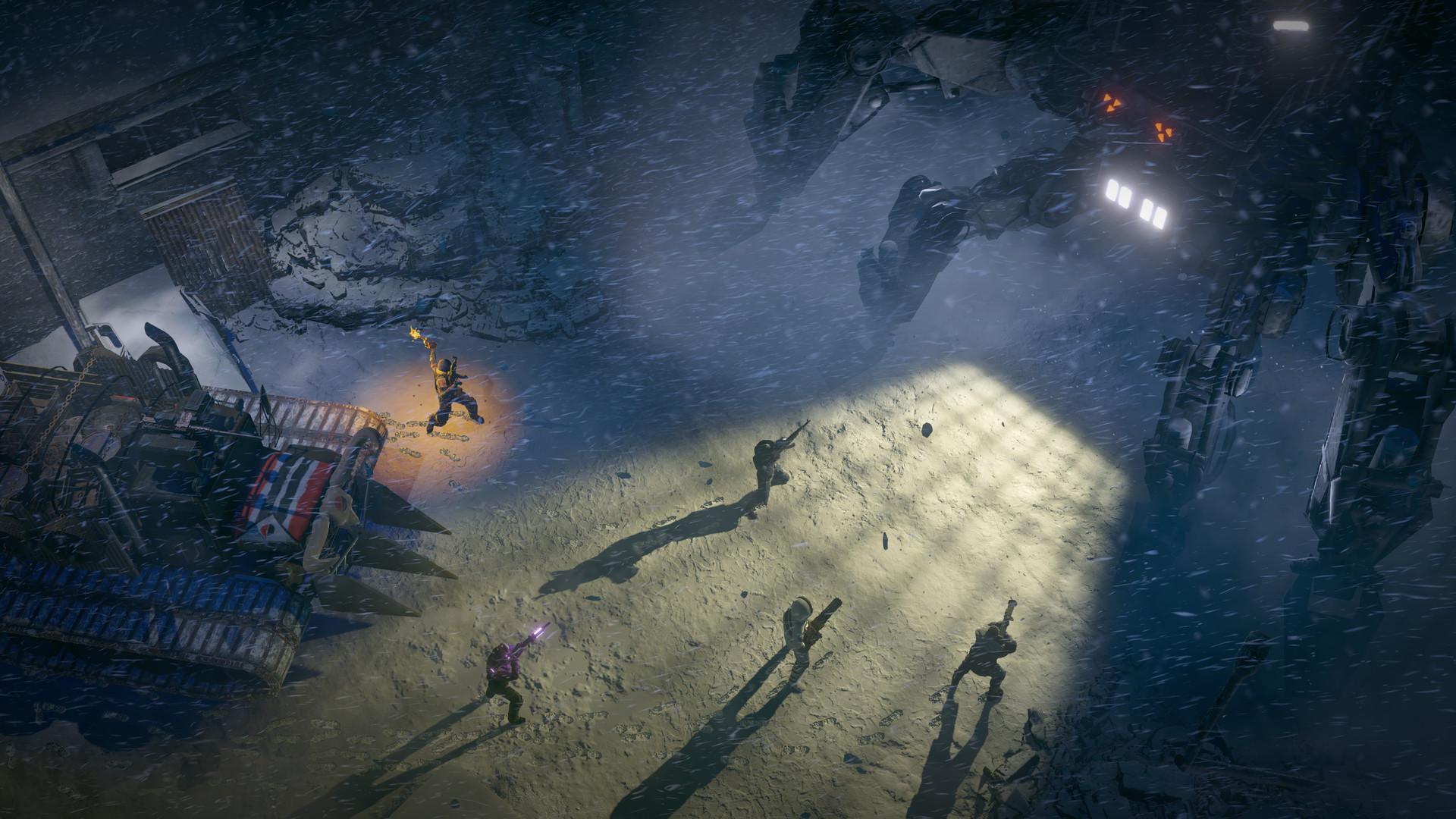 《废土3》精彩截图