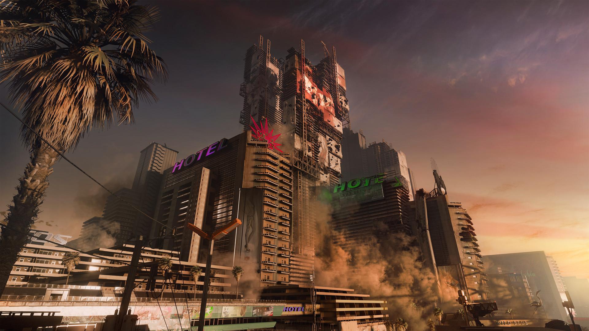 《赛博朋克2077》精彩截图