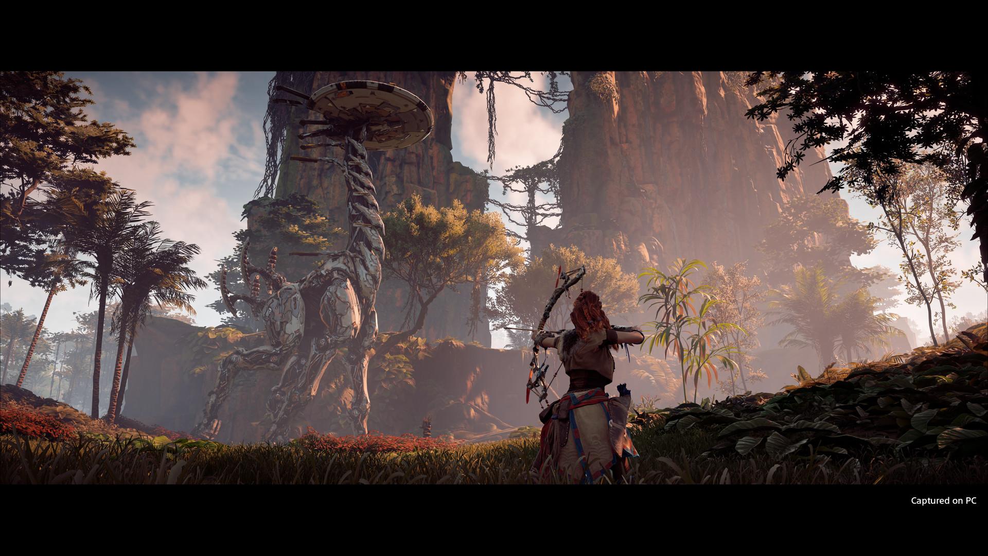 《地平线:零之曙光》游戏截图