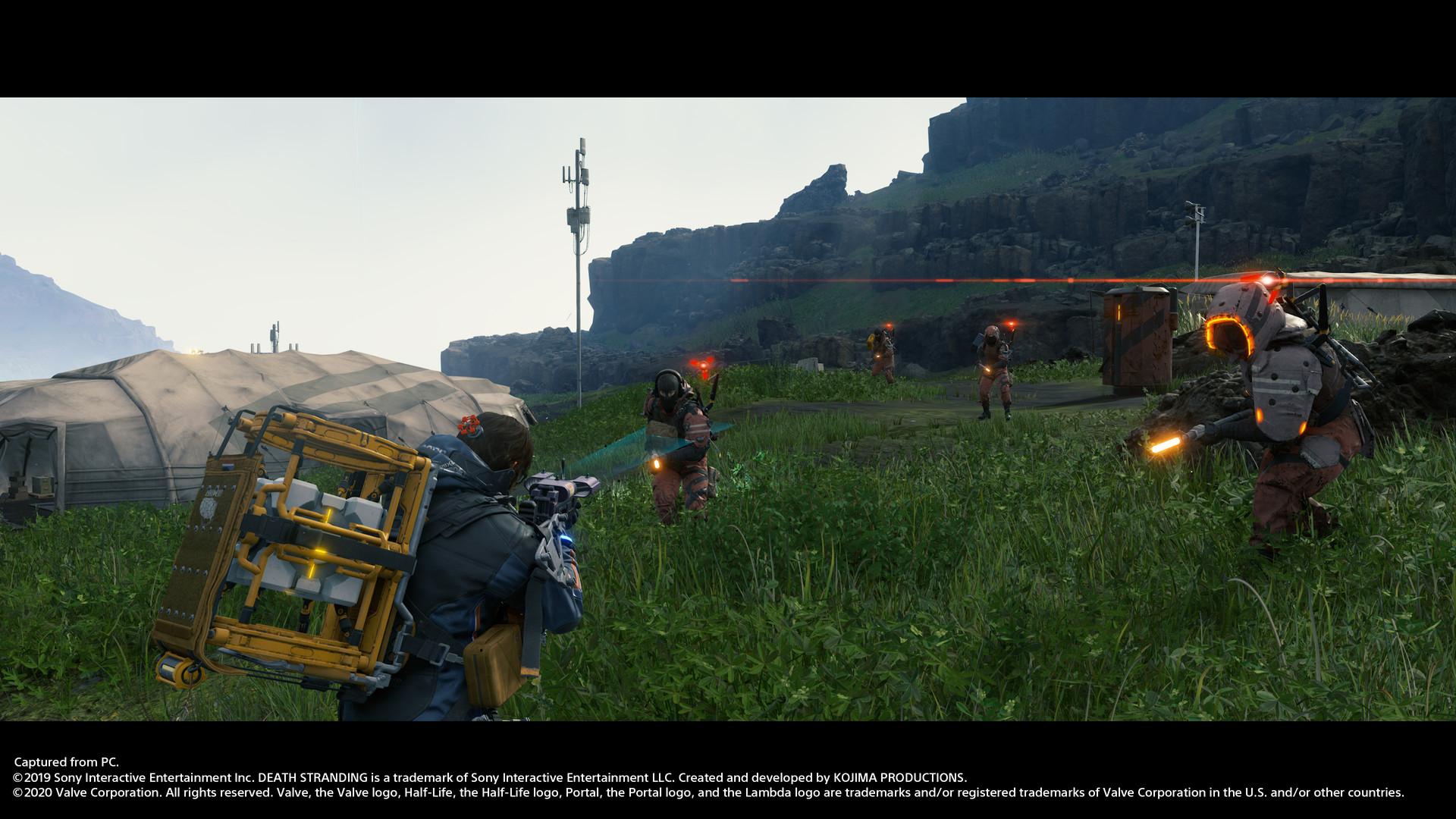 《死亡搁浅》PC版游戏截图