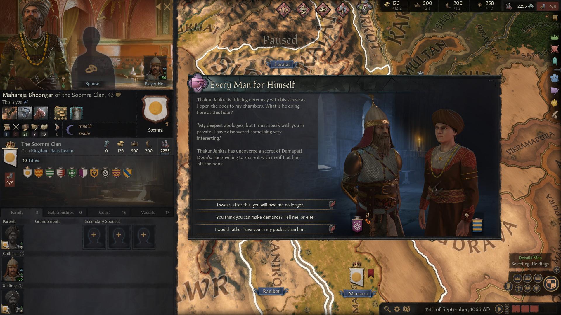 《十字军之王3》游戏截图